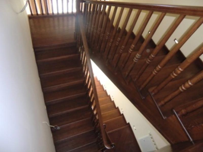Деревянная лестница под ключ D 1002
