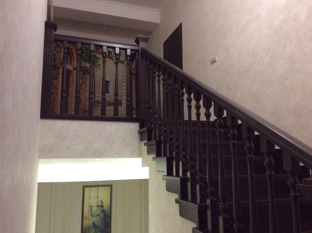 Деревянная лестница под ключ D 1044