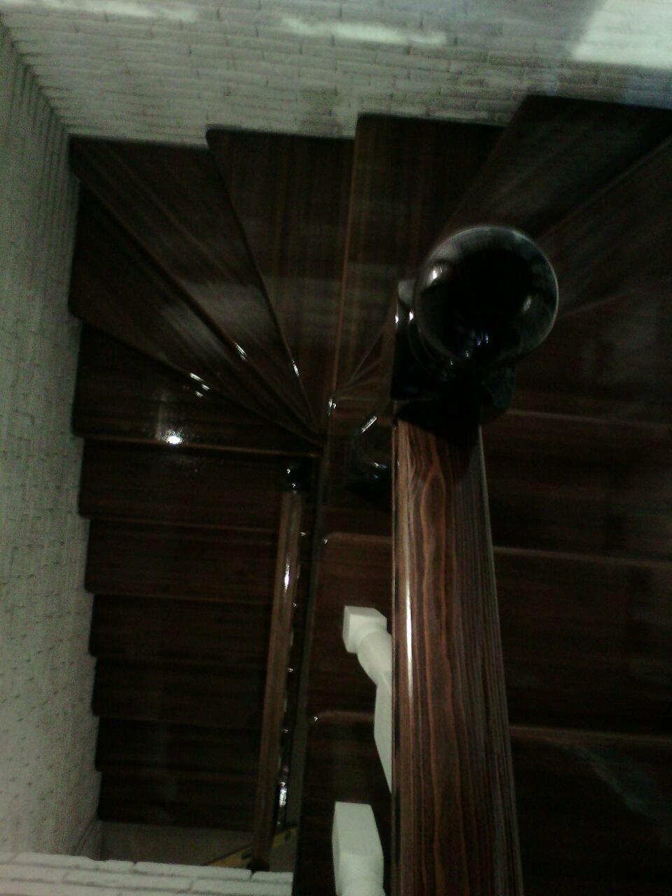 Деревянная лестница под ключ D 1048