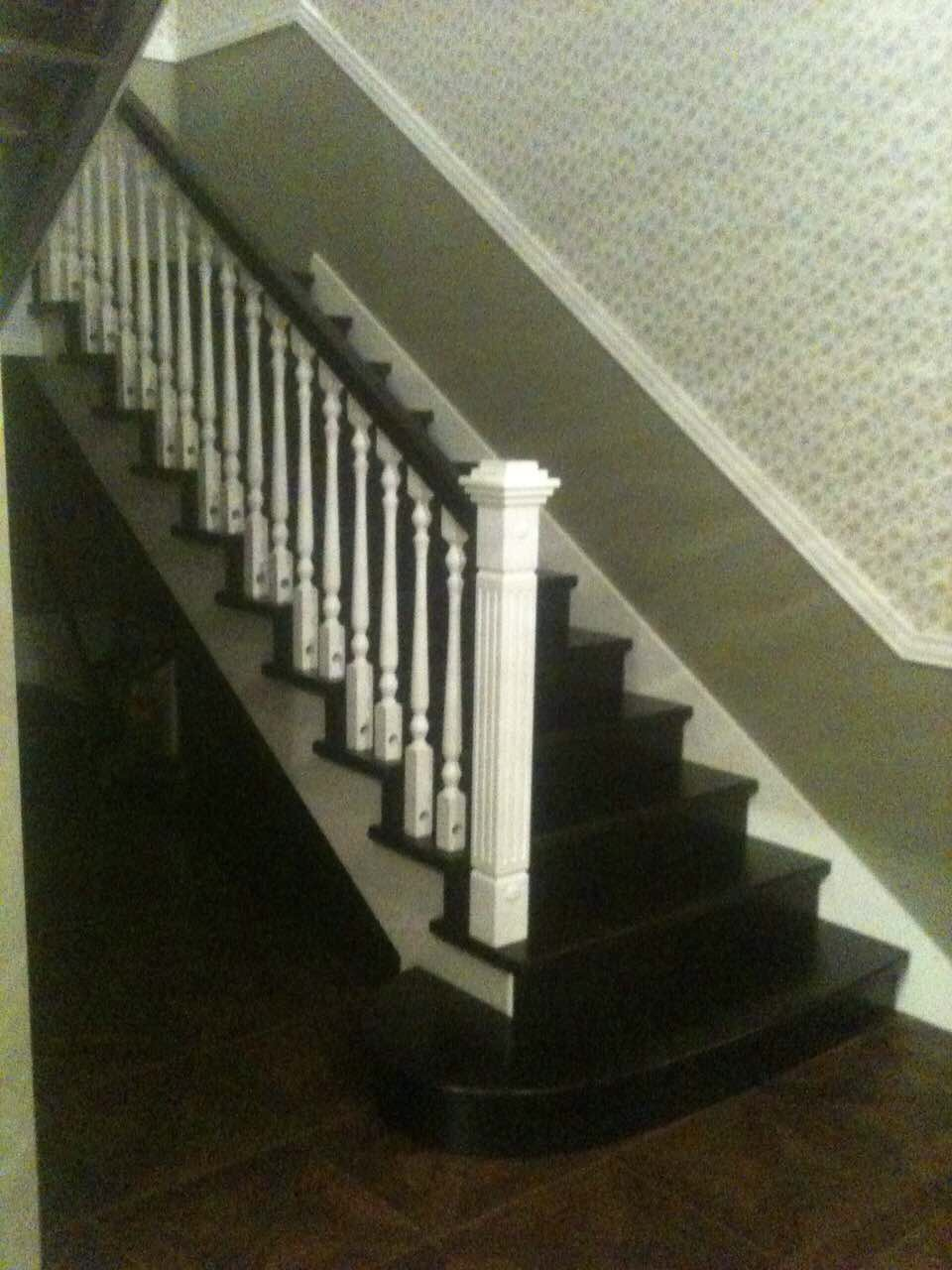 Деревянная лестница под ключ D 1054