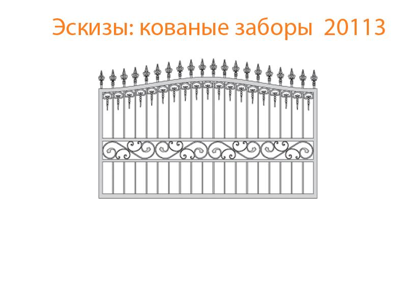 Кованые заборы эскизы N 20113