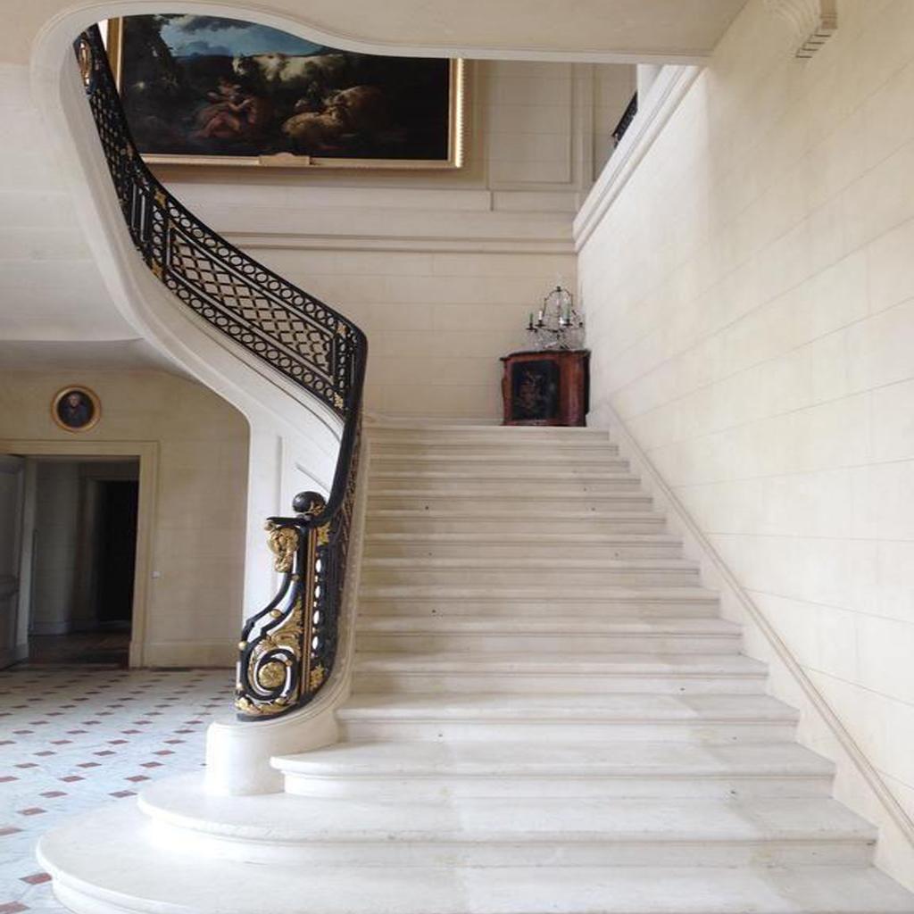 Каменные лестницы под ключ L-1006