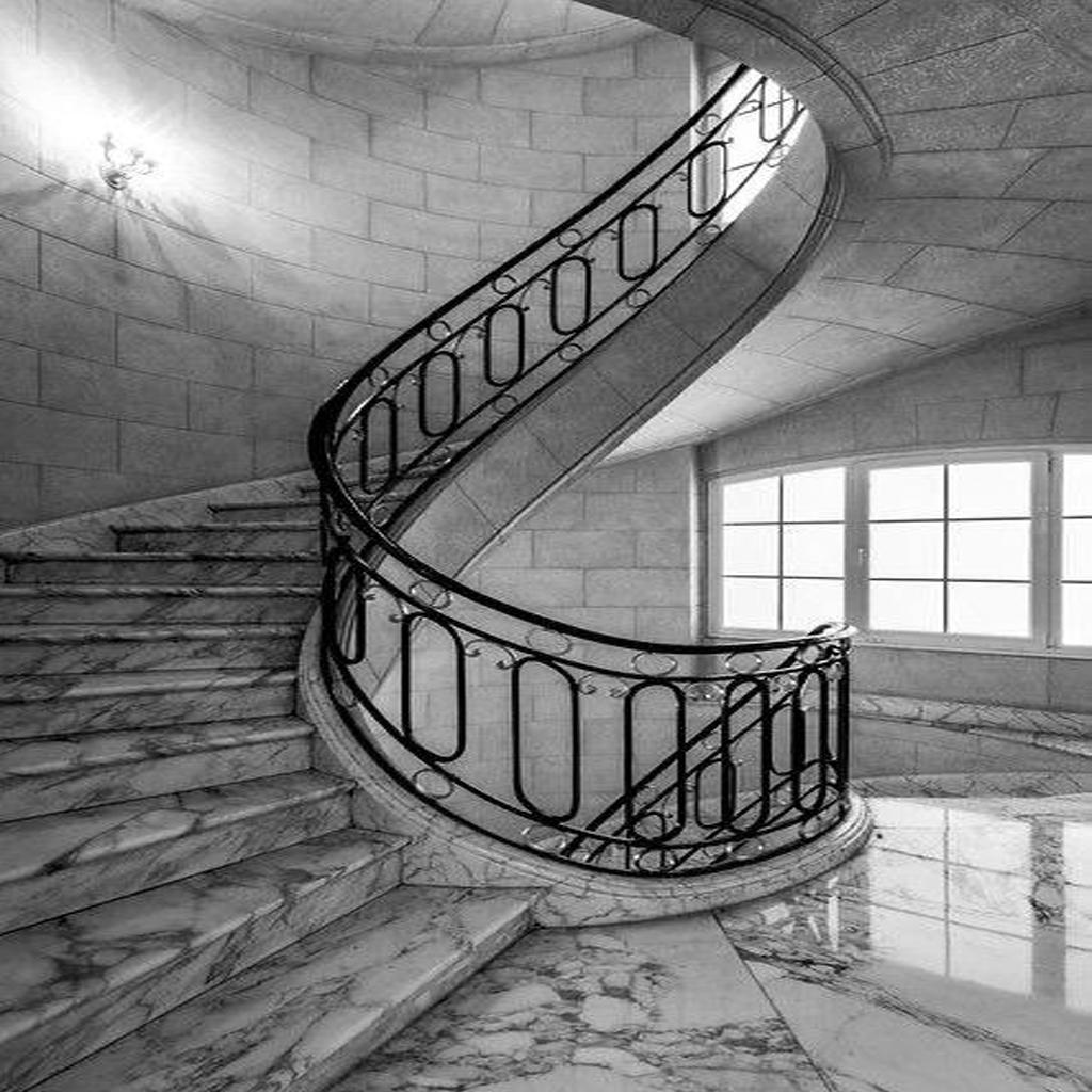 Каменные лестницы под ключ L-1010