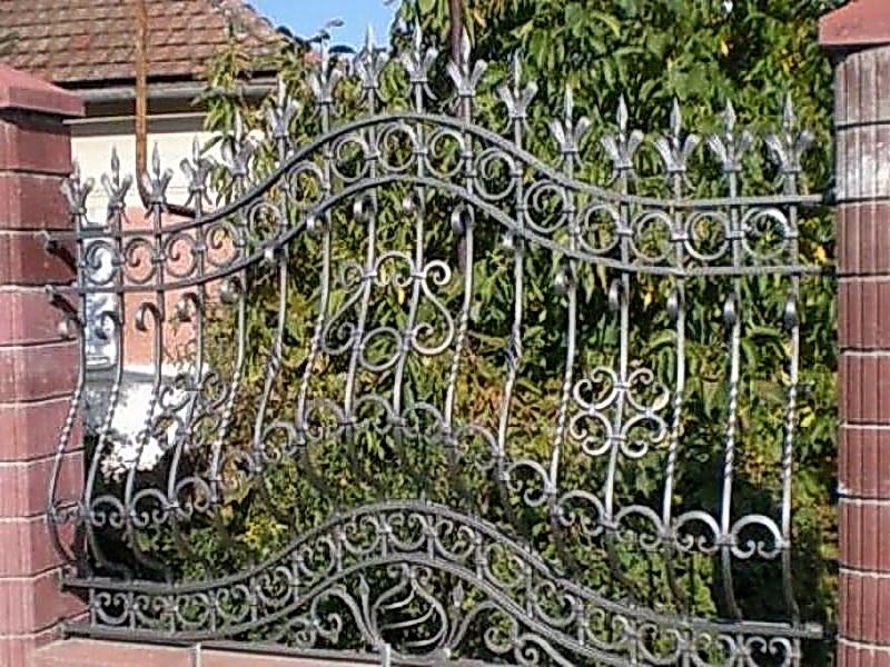 Кованая ограда и заборы N 5002