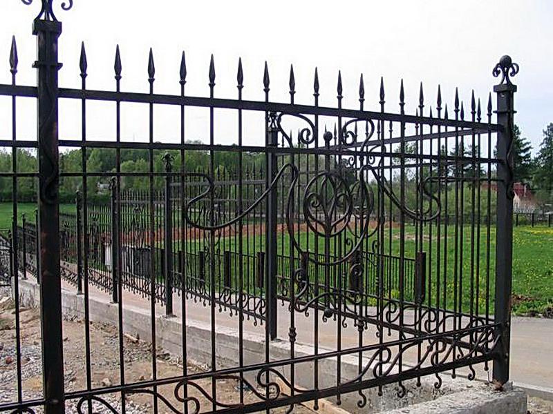 Кованая ограда и заборы N 5003