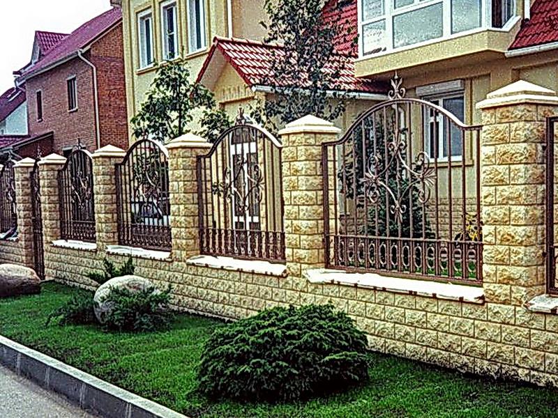 Кованая ограда и заборы N 5005