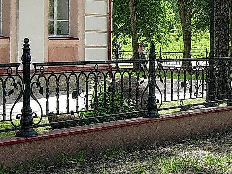 Кованая ограда и заборы N 5006
