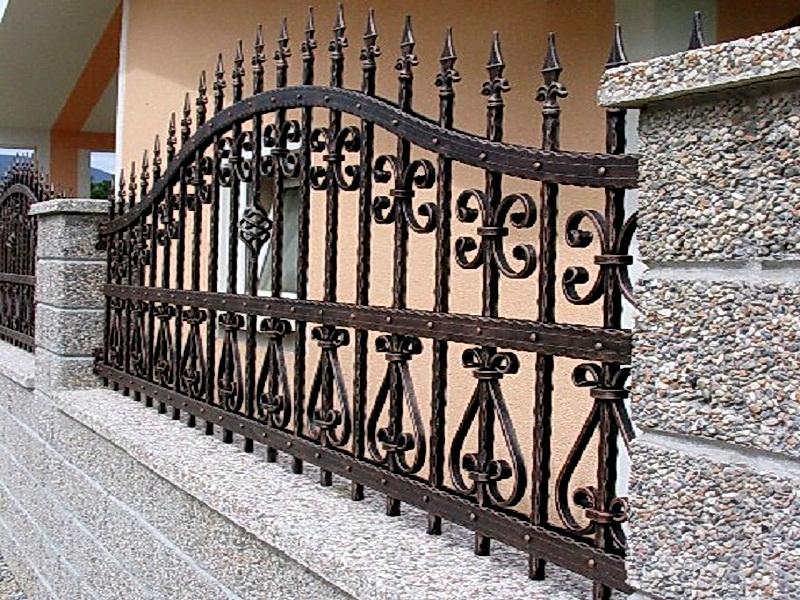 Кованая ограда и заборы N 5007