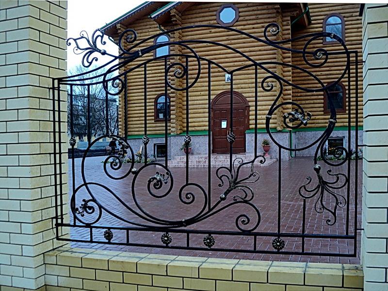 Кованая ограда и заборы N 5008