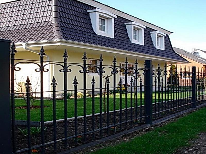 Кованая ограда и заборы N 5009