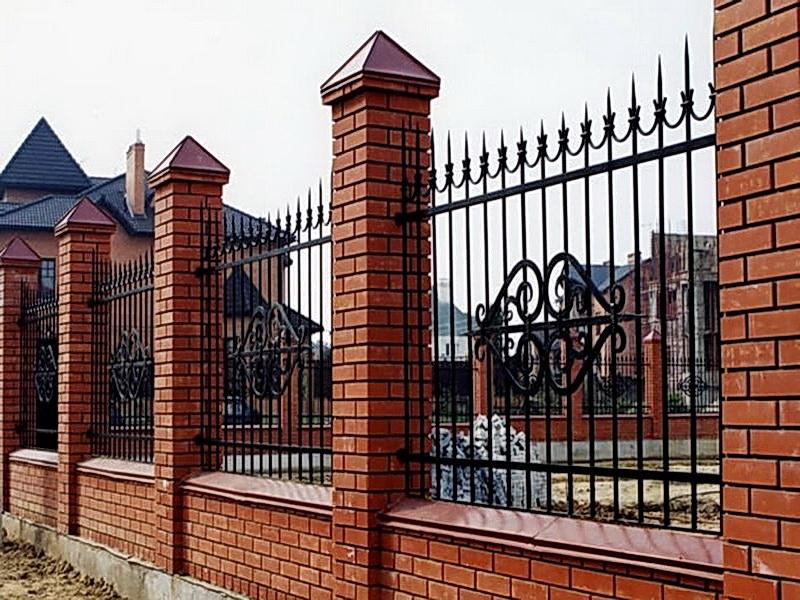 Кованая ограда и заборы N 5010