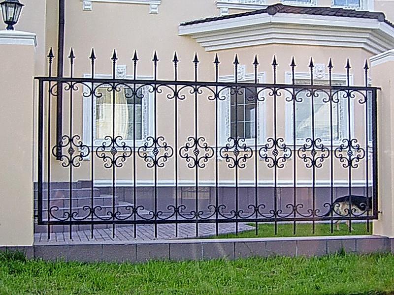 Кованая ограда и заборы N 5011