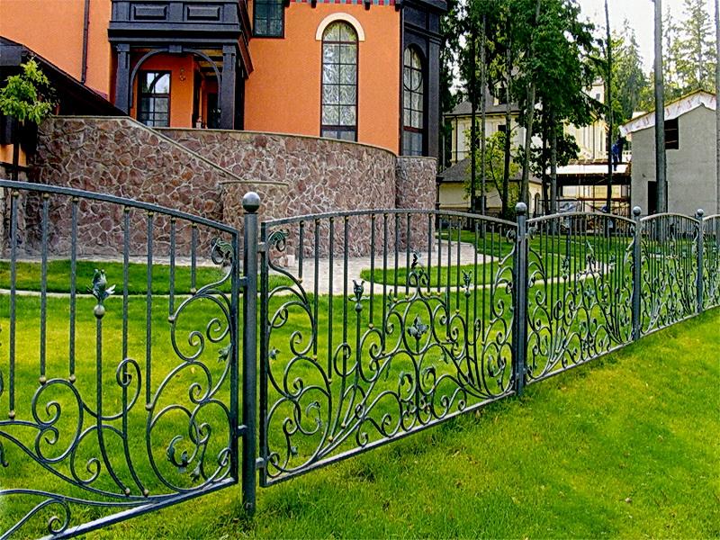 Кованая ограда и заборы N 5012