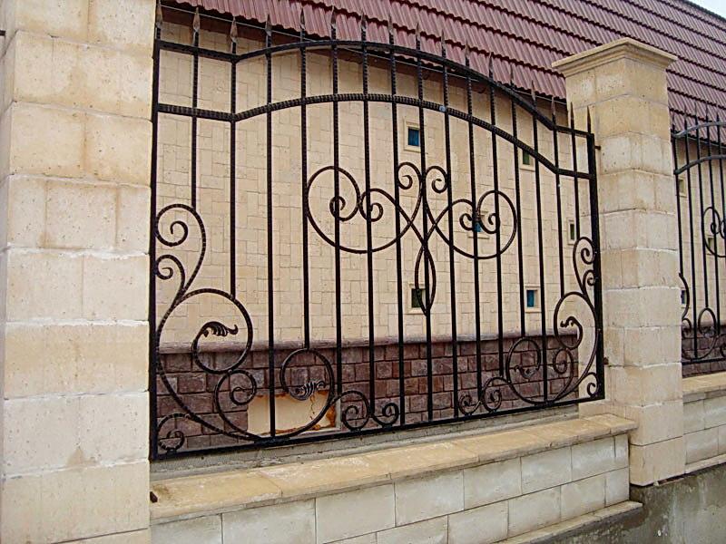 Кованая ограда и заборы N 5013