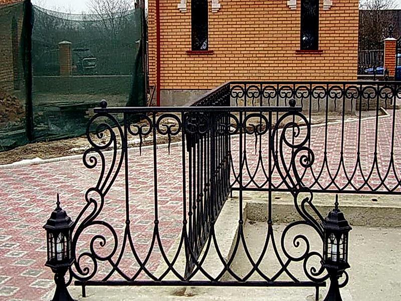 Кованая ограда и заборы N 5015