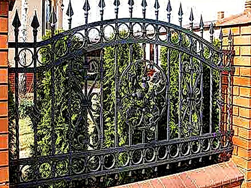 Кованая ограда и заборы N 5016