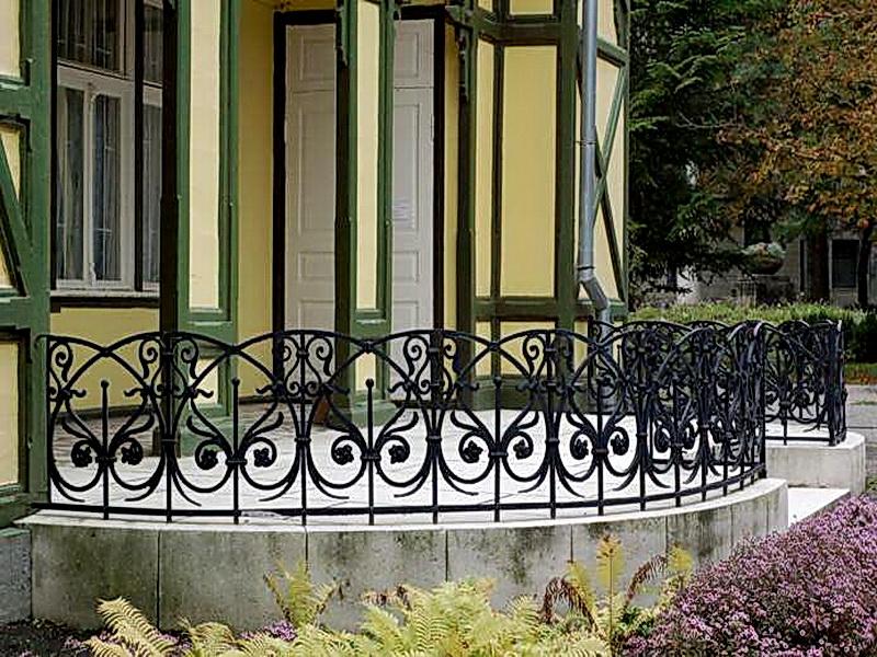 Кованая ограда и заборы N 5017
