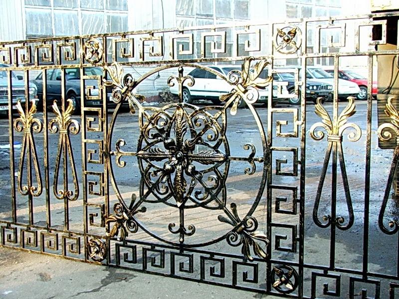 Кованая ограда и заборы N 5020