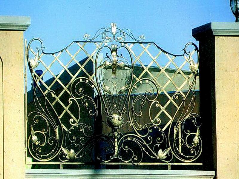 Кованая ограда и заборы N 5021