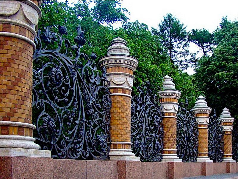 Кованая ограда и заборы N 5023