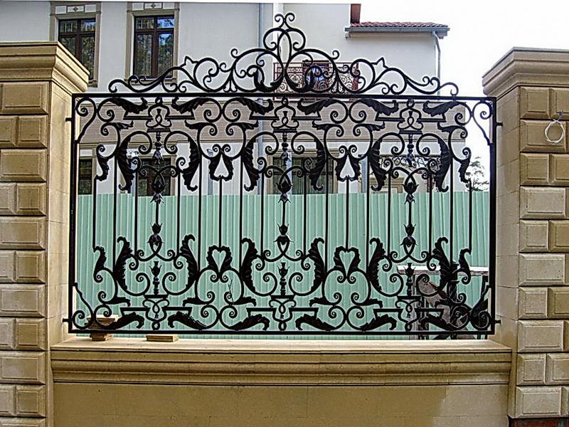 Кованая ограда и заборы N 5024