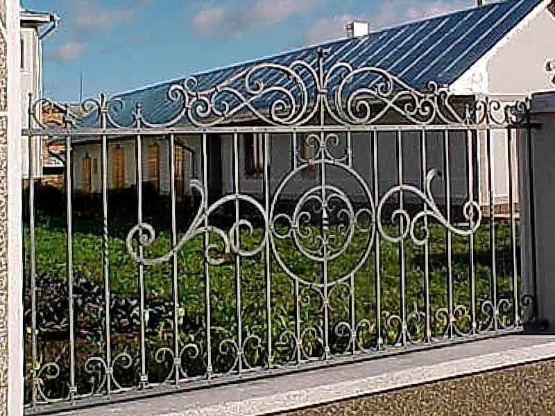 Кованая ограда и заборы N 5026