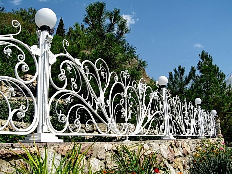 Кованая ограда и заборы N 5027