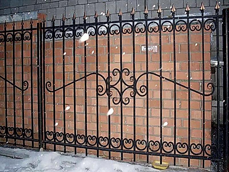 Кованая ограда и заборы N 5028