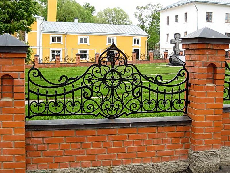 Кованая ограда и заборы N 5029