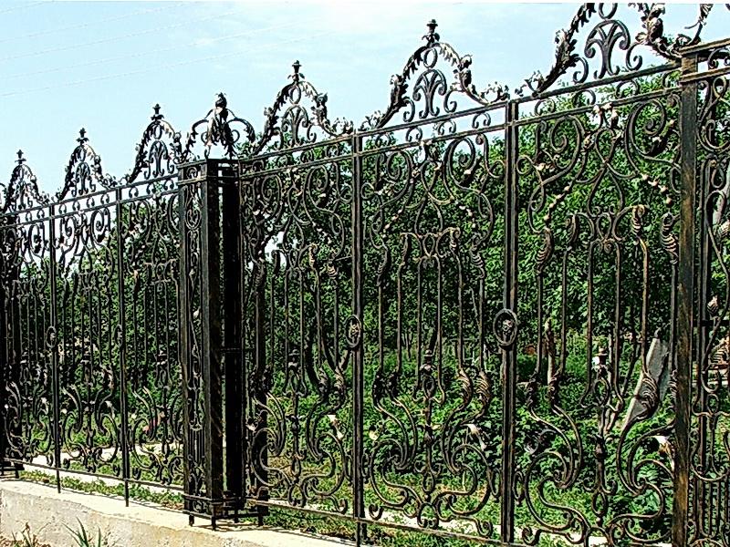 Кованая ограда и заборы N 5030