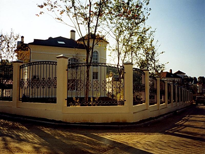 Кованая ограда и заборы N 5036