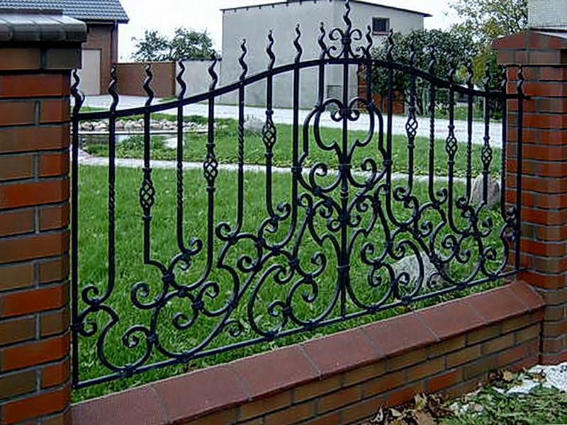 Кованая ограда и заборы N 5039