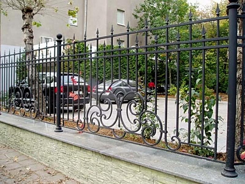Кованая ограда и заборы N 5041