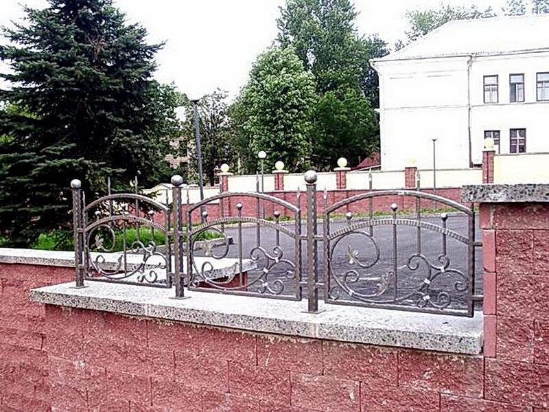 Кованая ограда и заборы N 5042