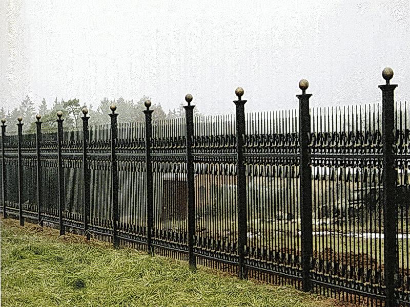 Кованая ограда и заборы N 5043