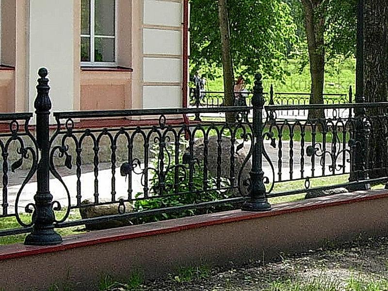 Кованая ограда и заборы N 5046