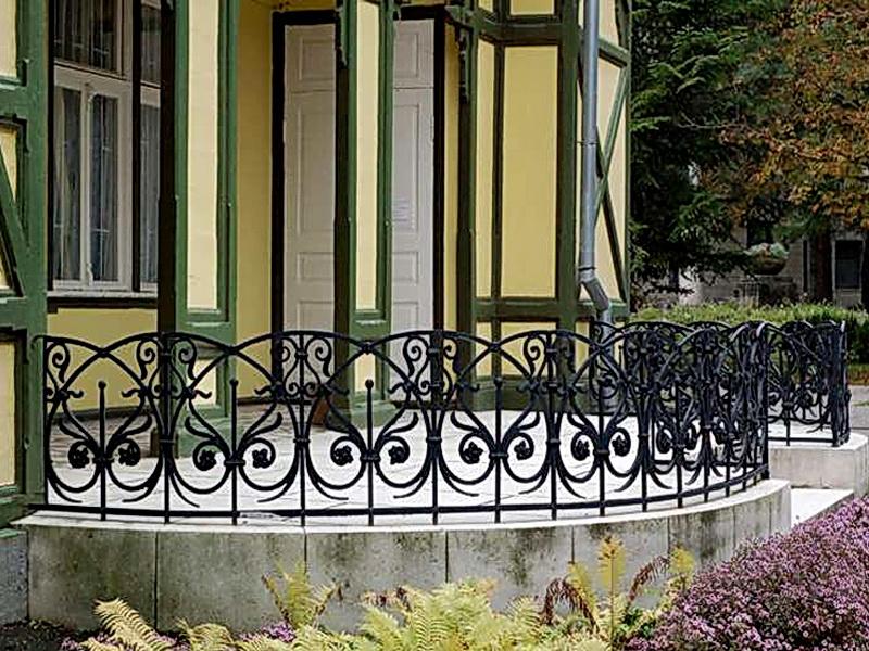 Кованая ограда и заборы N 5049