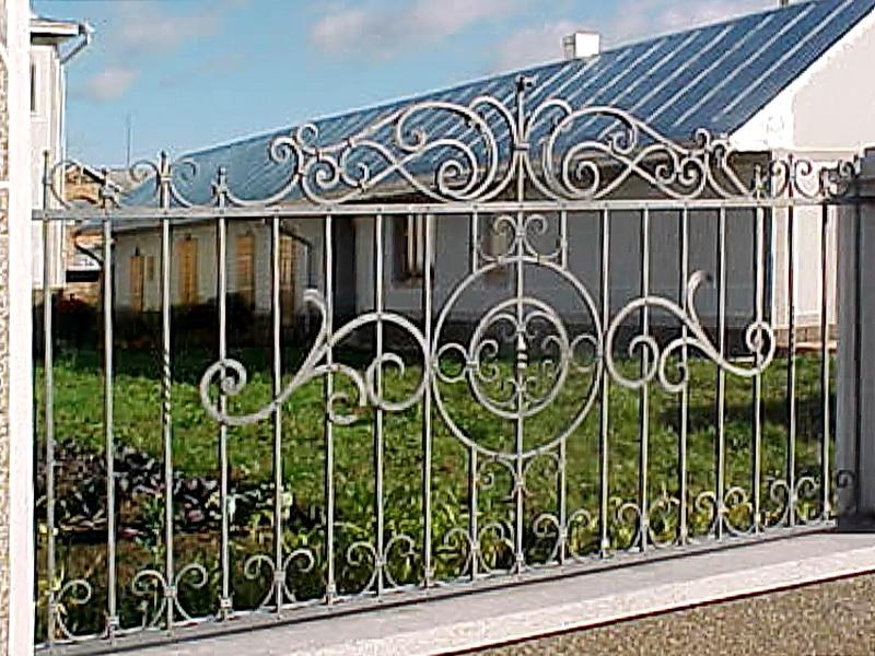 Кованая ограда и заборы N 5050