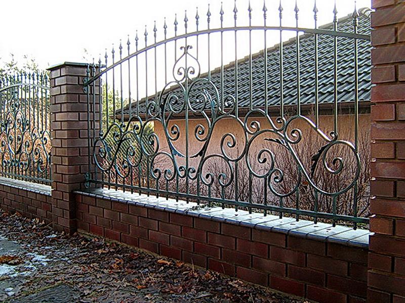 Кованая ограда и заборы N 5051