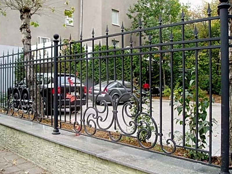 Кованая ограда и заборы N 5053