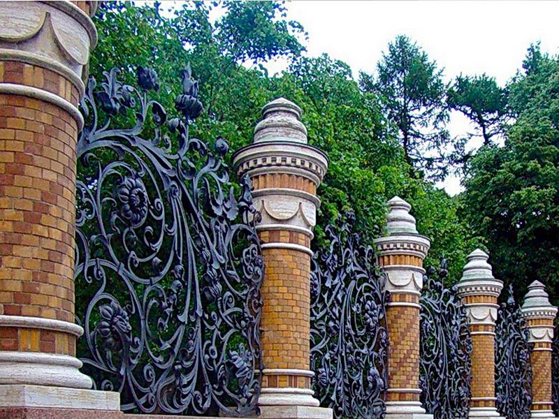Кованая ограда и заборы N 5054