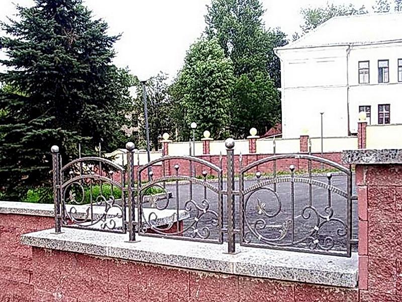 Кованая ограда и заборы N 5055
