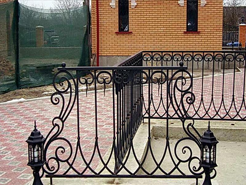 Кованая ограда и заборы N 5056