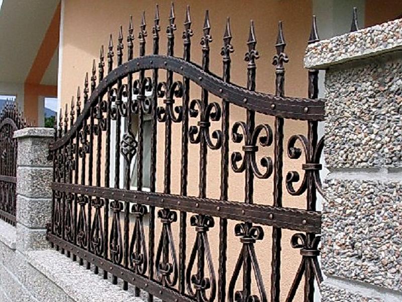 Кованая ограда и заборы N 5057