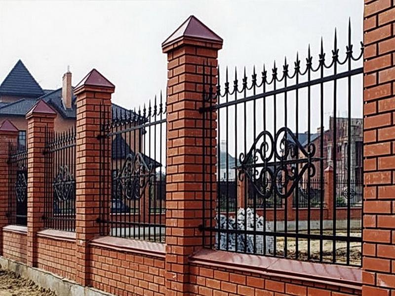 Кованая ограда и заборы N 5058