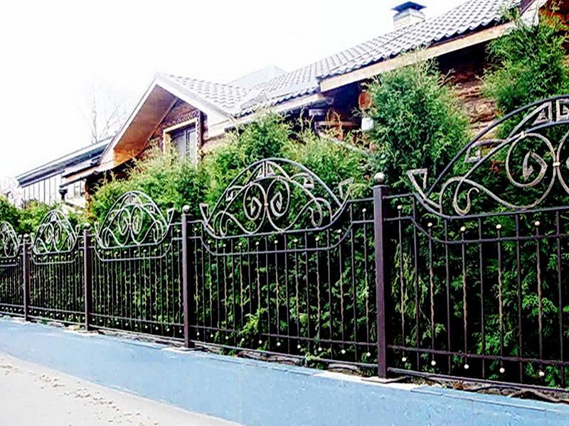 Кованая ограда и заборы N 5061