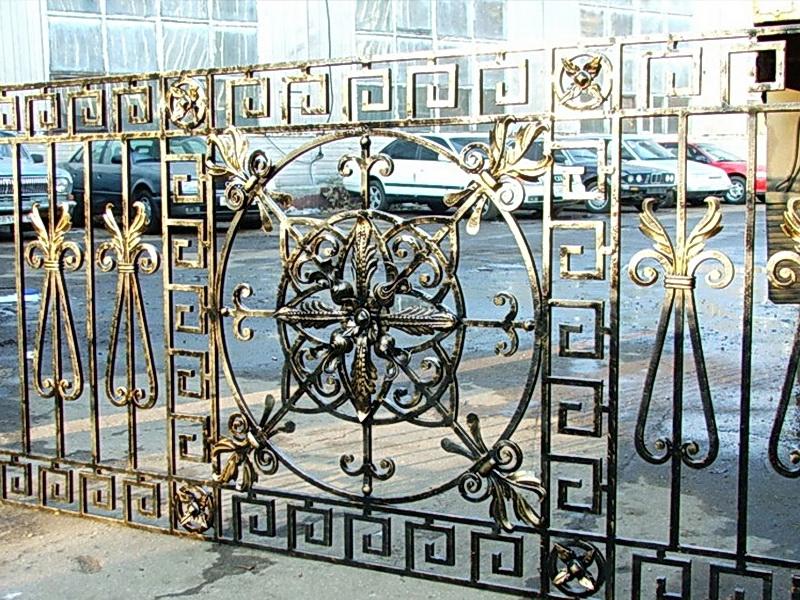 Кованая ограда и заборы N 5062