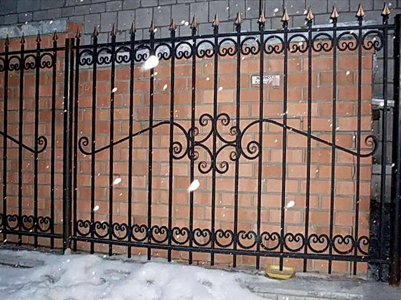 Кованая ограда и заборы N 5063