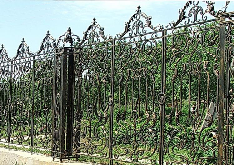 Кованая ограда и заборы N 5064