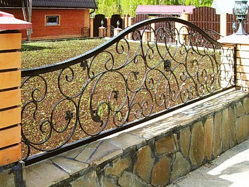 Кованая ограда и заборы N 5067